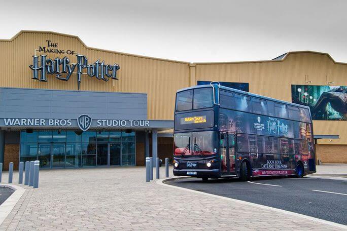 Golden Tours Warner Brothers Studio